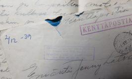 Kirje talvisodan rintamalta 2.12.1939: Ilmajokelaisen tulenjohtueen tulikaste Kiviniemessä