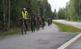 Reserviläispyöräily Vaasassa 25.8.2018