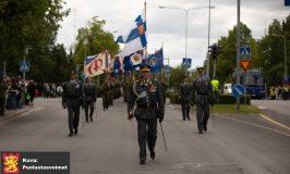 Puolustusvoimien lippujuhlan satavuotisjuhlaparaati 4.6.2018
